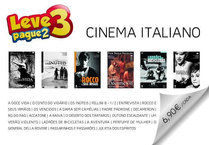 PROMOÇÃO 'CINEMA ITALIANO' Aproveite, campanha exclusiva ao facebook da Costa do Castelo. Faça a sua encomenda através do e-mail: site_ccf@costacastelo.pt