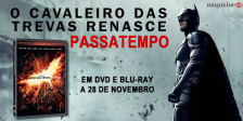 """A Magazine.HD e a ZON Audiovisuais têm para oferecer 5 DVDs do fantástico """"O Cavaleiro das Trevas Renasce"""""""