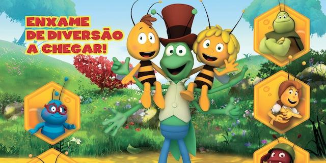 Abelha Maia Nickelodeon