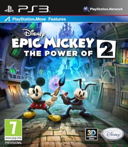 Amazoncom Disney Epic Mickey 2 The Power Of Two Playstation 3 | Short