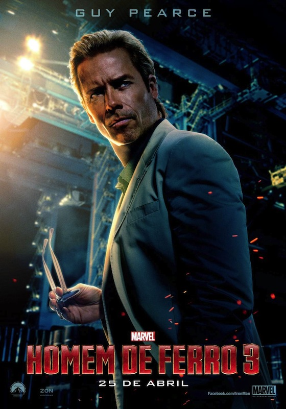Aldrich Killian - Guy Pearce - Iron Man 3