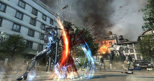 metal gear rising attack