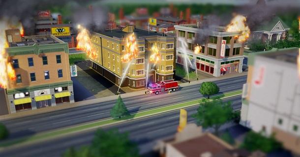 sim city bombeiros