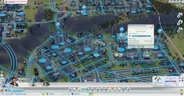 sim city screen