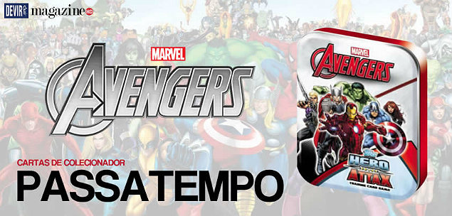 Avengers Marvel Avengers Hero Attax - Lata PassatempoMHD MHD