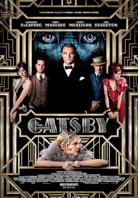 cartaz The Great Gatsby Poster português
