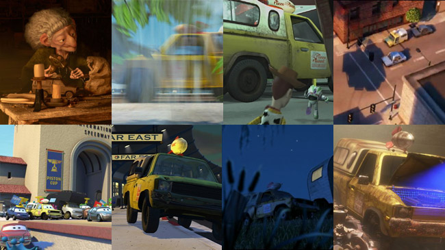 pizza planet truck (various)
