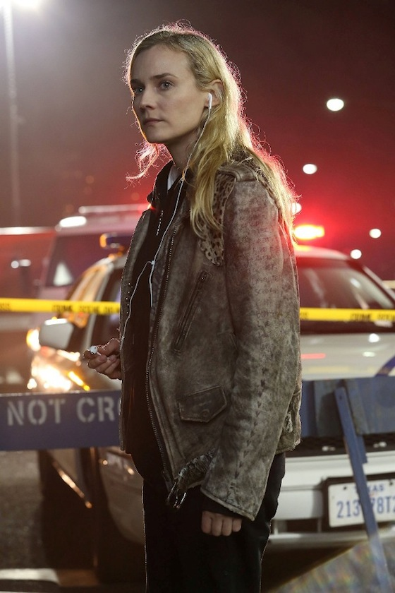 THE BRIDGE - Pictured: (L-R) Diane Kruger as Sonya Cross. CR: FX Network