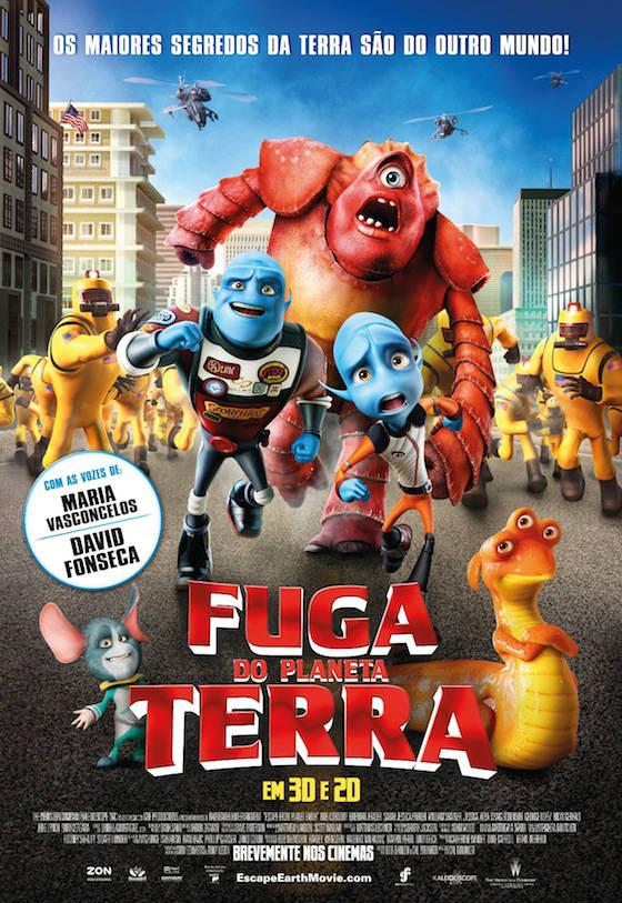 FUGA DO PLANETA TERRA - Poster