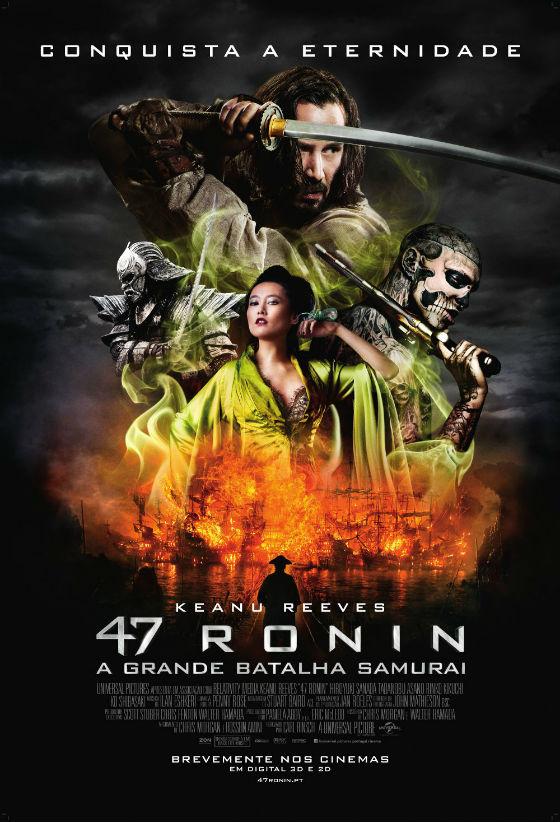 47 Ronin - A Grande Batalha Samurai Poster