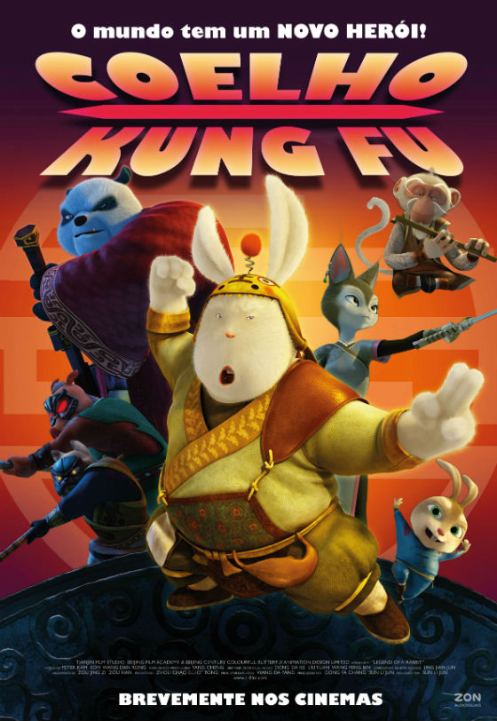 Coelho Kung Fu o Poster