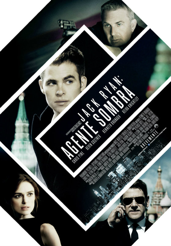 Jack Ryan Agente Sombra - Poster