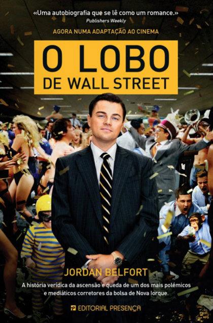 Passatempo do Livro O Lobo de Wall Street - Capa