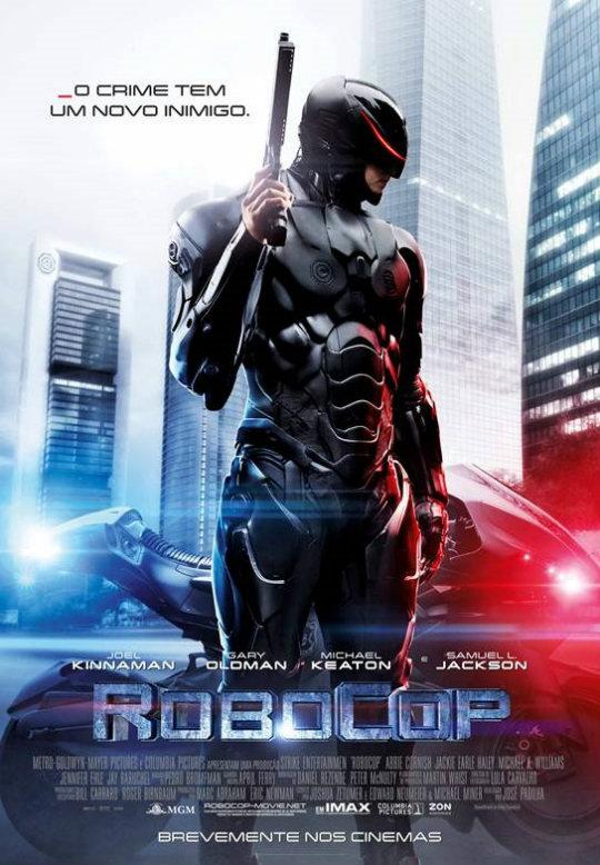 RoboCop nos Cinemas a 13 de Fevereiro de 2014 o Poster