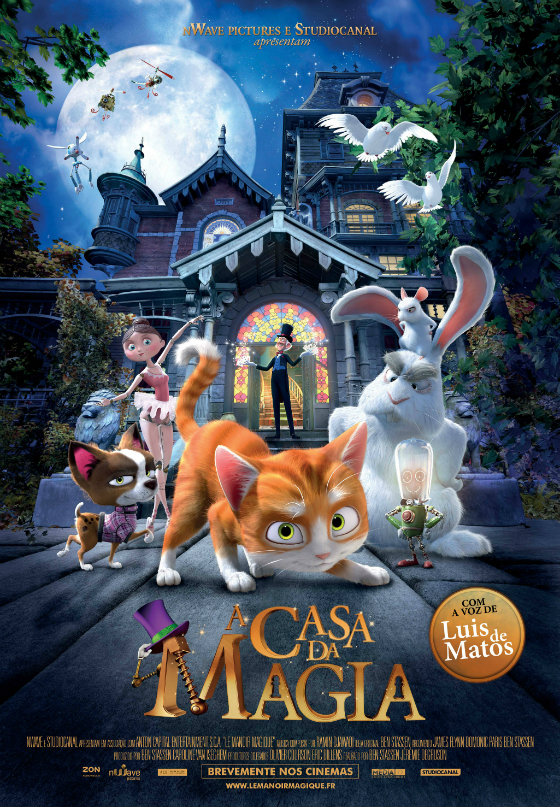 A Casa da Magia Poster