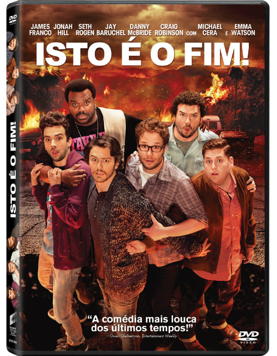 This Is the End Passatempo DVD II