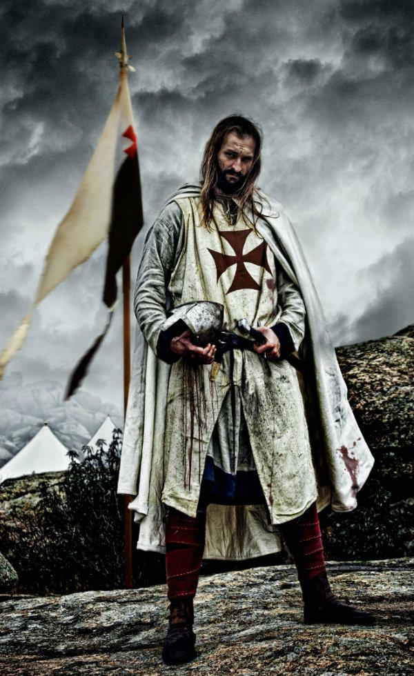 Templarios no Canal História HD Foto (2)