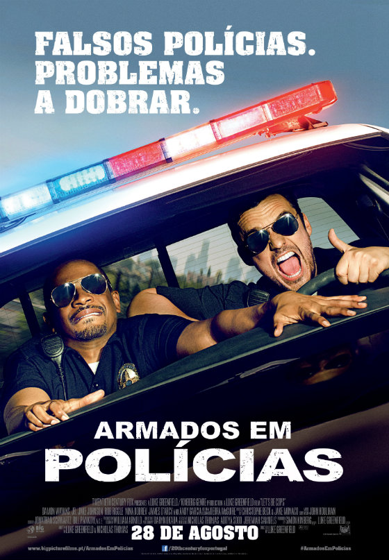 Lets Be Cops o Poster