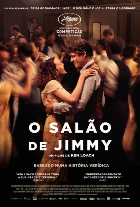 O Salao de Jimmmy Poster