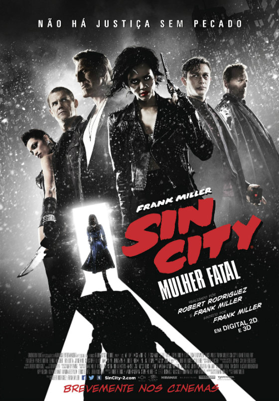 Sin City Mulher Fatal Poster
