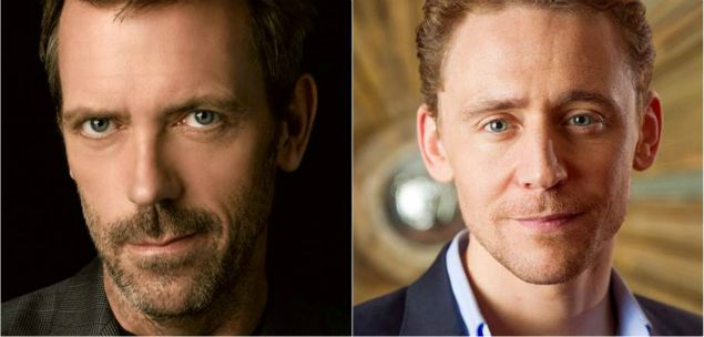 The Night Manager, Hugh Laurie, Tom Hiddleston
