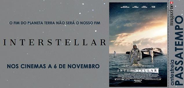 Interstellar Christopher Nolan Banner Passatempo