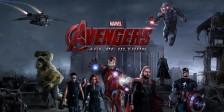 Vingadores: A Era de Ultron nos cinemas a 29 de abril. No elenco Robert Downey Jr., Chris Evans, Mark Ruffalo, Scarlett Johansson, Cobie Smulders.