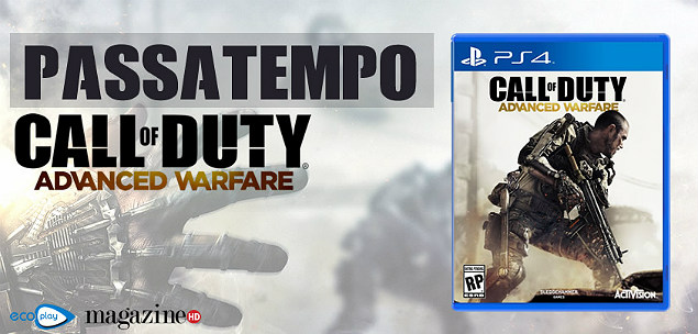 Call of Duty: Advanced Warfare Call of Duty Advanced Warfare em Passatempo
