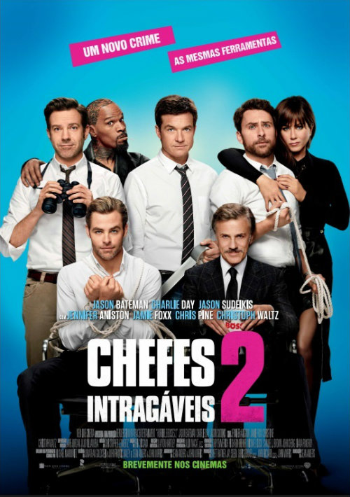Chefes Intragáveis 2 Horrible Bosses 2 Poster Cinema