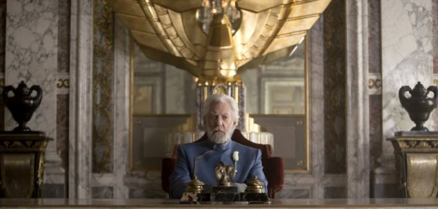 The Hunger Games: Mockingjay - Part 1 President-Snow