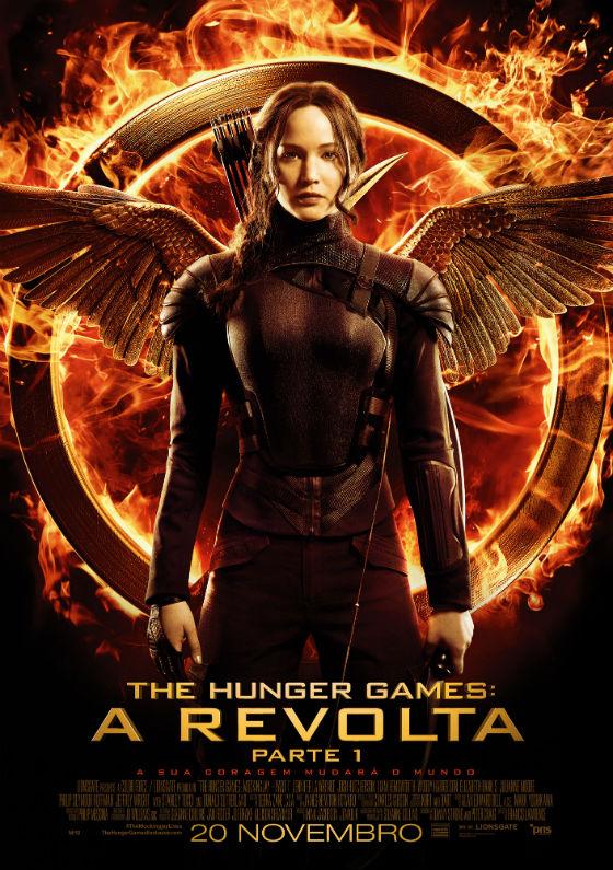 The Hunger Games A Revolta Parte 1 o Cartaz