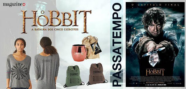 Hobbit O Hobbit A Batalha dos Cinco Exércitos Merch Banner