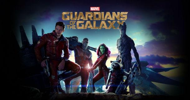 Guardioes da Galaxia Marvel