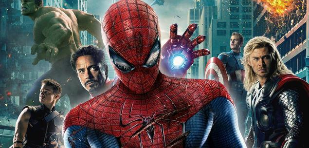 spider man com avengers