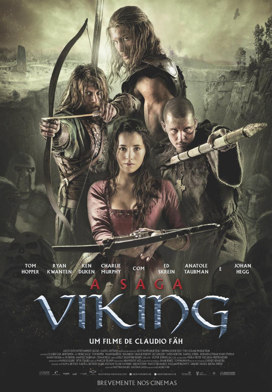 A Saga Viking - Poster