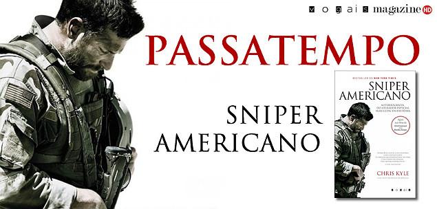 Passatempo do Livro Sniper Americano o Banner
