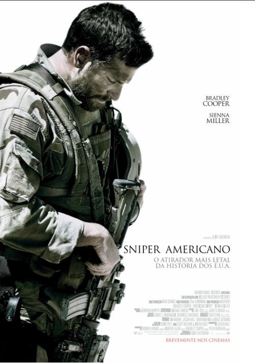 Sniper Americano - Poster