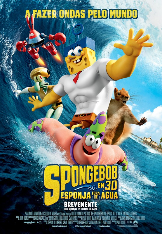 SpongeBob_Esponja Fora De Água-poster