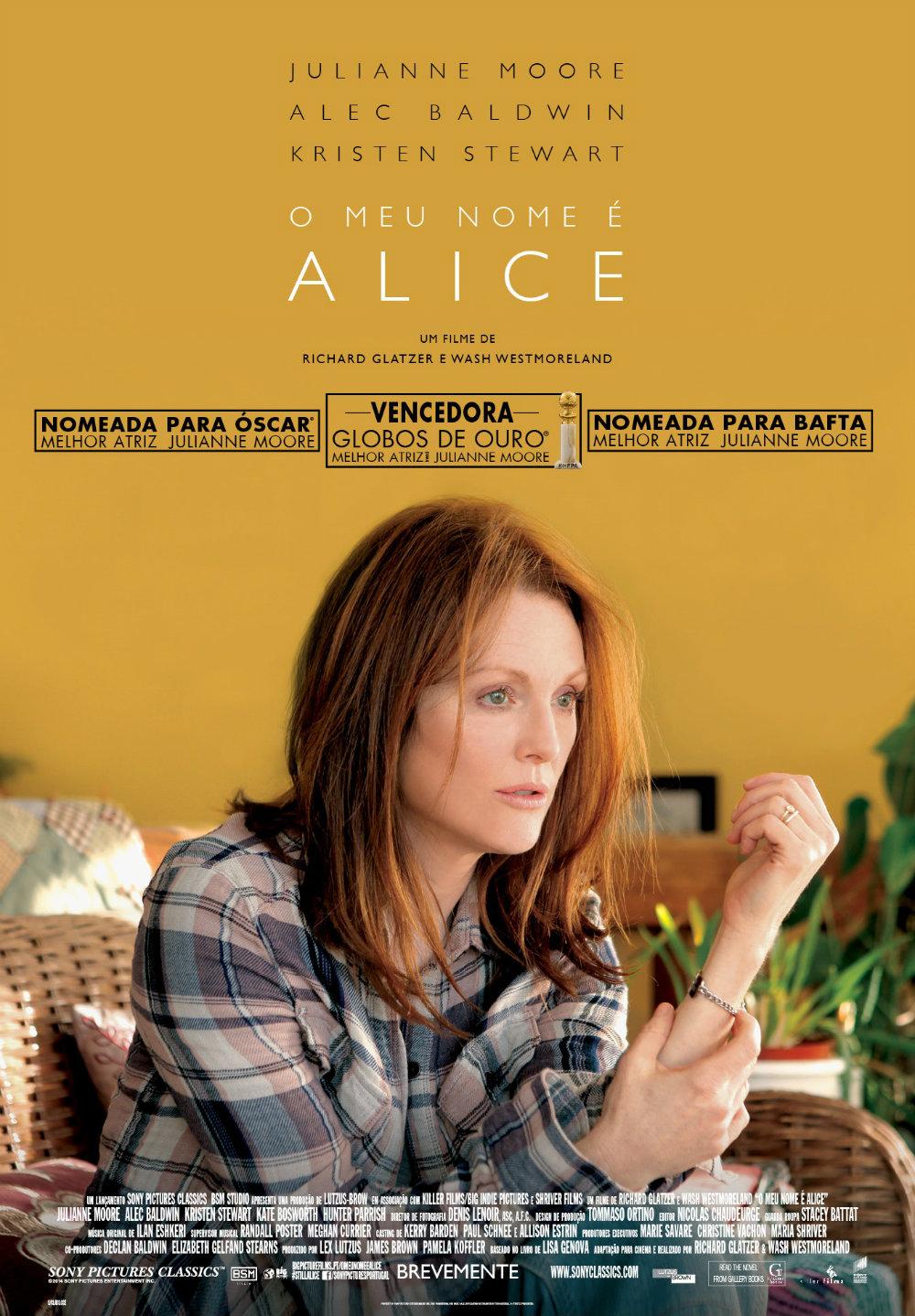 Still Alice - Poster O Meu Nome é Alice