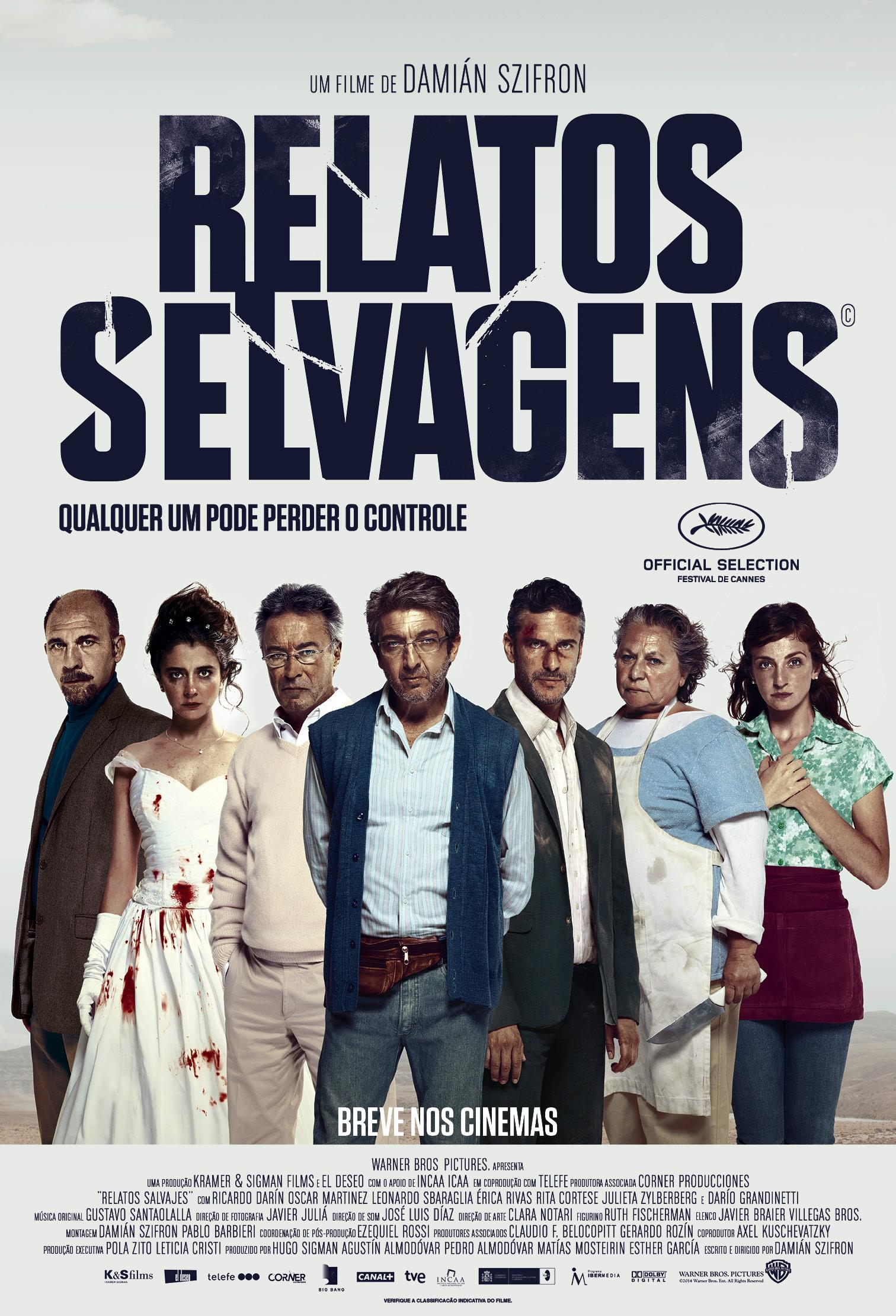 """Cinemas exibem aviso no filme """"Relatos Selvagens"""" após queda de avião"""