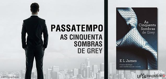 As Cinquenta Sombras de Grey Passatempo Livro