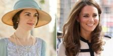 """A Duquesa de Cambridge vai visitar os estúdios de """"Downton Abbey"""" e assistir à gravação de uma cena da popular série britânica."""