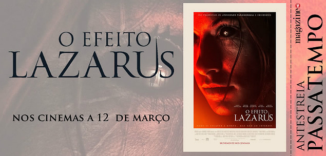 O Efeito Lazarus - Banner