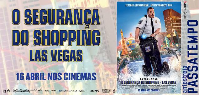 O Segurança do Shopping - Las Vegas - AE
