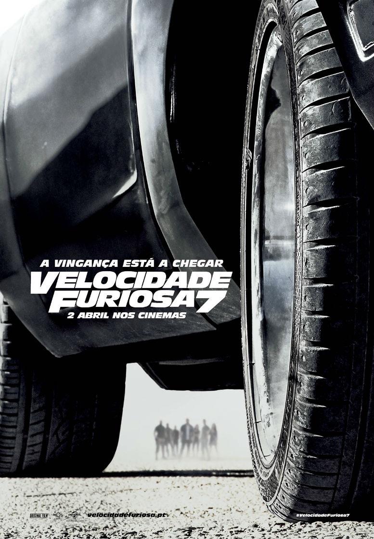 Velocidade Furiosa 7 - Poster