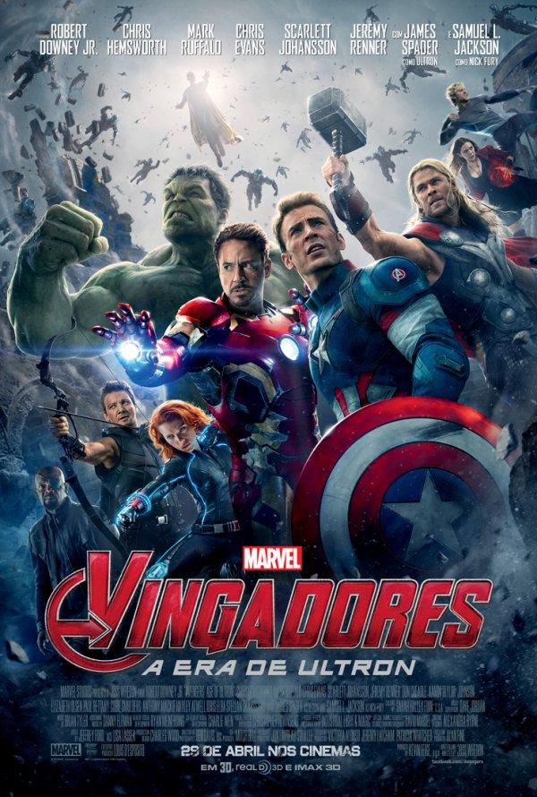 Vingadores: A Era de Ultron - 29 Abril