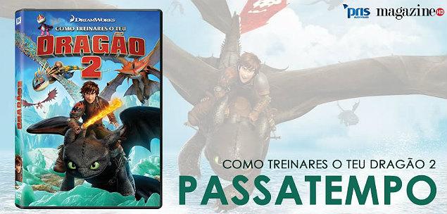 Dragão como treinares o teu dragao 2 dvd pst