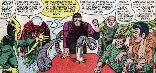 spider-man e sinister six