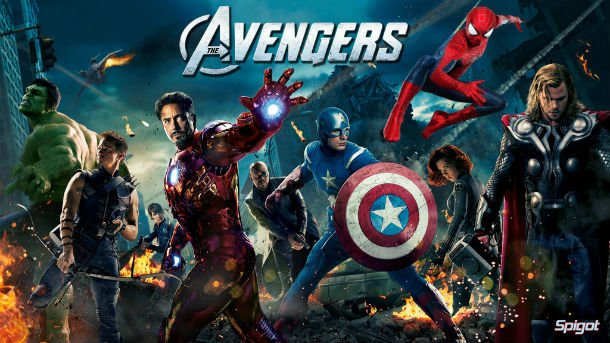 spider man e avengers