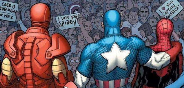spider-man e avengers